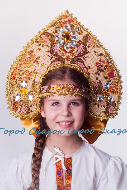 """Кокошник """"Боярский"""""""