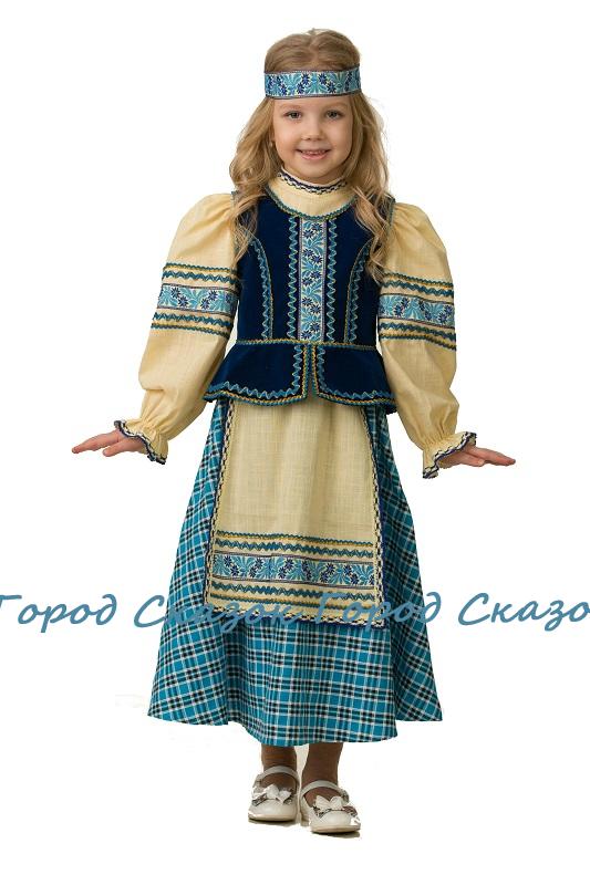 Народный костюм для девочки