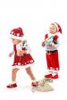 Помощница Санта Клауса кроха