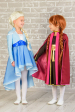 Платье для девочки голубое